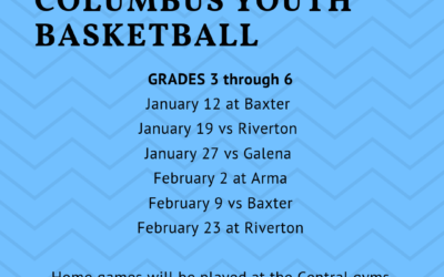 Columbus Youth Basketball grades 3 to 6